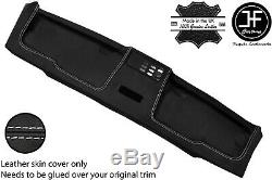 White Stitch Top Roof Headliner Panel Leather Cover For Bmw E30 81-92 Coupe