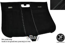 White Stitching Roof Lining Headlining Luxe Suede Cover For Audi Tt Mk2 06-14
