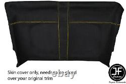 Yellow Stitch Front Roof Headlining Luxe Suede Cover For Land Rover Defender 90
