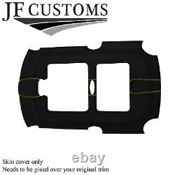 Yellow Stitch Luxe-suede Sun Roof Headliner Cover For Bmw Mini R50 R52 R53 01-06
